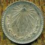 1 Peso Resplandor 1938 Plata Ley .720