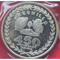 Medalla Mexico 450 Anv Fun De Fresnillo Zac Plata Escasa