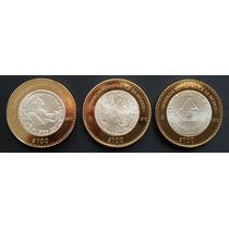 Mexico 2012 Herencia Numismatica Plata 3 Monedas Envio Grati