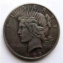 Moneda Dos Caras Dolar De Plata 1922 Coleccionistas Batman