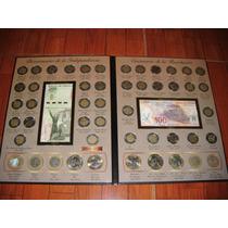 Colección Completa De Monedas Y Billetes Del Bicentenario