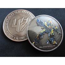 Moneda Transformers Bumblebee Age Of Extinction