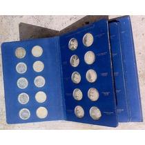 Coleccion Album 60 Monedas De Plata .999