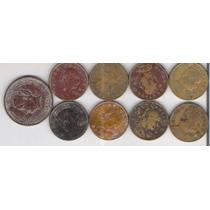 Monedas 5 Centavos Josefa Años 50s Lbf