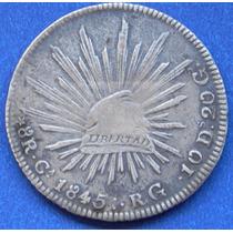 Moneda México Chihuahua 8 Reales 1834 5 Rg Excelente Estado