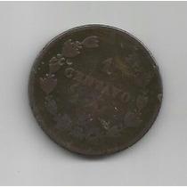 Centavo Maximiliano 1864 Pobre Condicion (3)