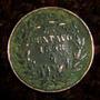 Un Centavo 1898 Cobre Porfirio Cambio De Aguila Estilizada