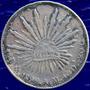 Aaaa 1892 8 Reales Mo Rara Moneda Mexicana Peso Xf Plata A92