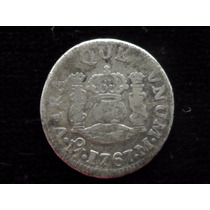 Moneda Medio Real Columnario 1767