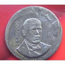 Moneda México 100000 Pesos P Elias Calles 1990 Plomo Escasa