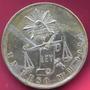 Moneda Mexico 1 Peso Balanza´plata C/ Chapa 24 K