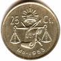 25 Cent 1953 Mo Unc