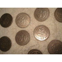 Lote De Monedas De 20 Pesos Cultura Maya