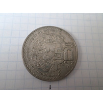 Error 50 Pesos 1982 Anverso Girado 220 Grados