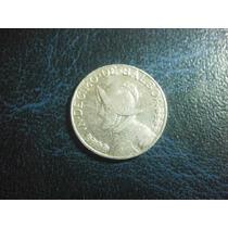 Panama Un Decimo De Balboa 1962 Plata Ley 0.900 17mm