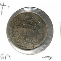 Centavo De Zacatecas 1880