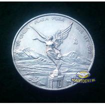 Moneda De Plata 1/4 De Onza Plata Pura Ley .999 De 1996