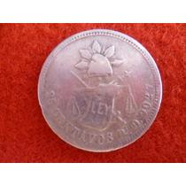 Moneda De 25 Cnt. Plata Balanza De S.l.p. Año 1872 Pi. O.