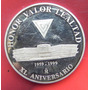 Medalla Mexico Colegio Del Aire Honor Valor Lealtad Plata