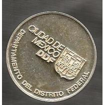 Medalla En Plata Del D-f- 30 Años