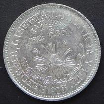 Moneda 1 Peso Taxco Guerrero 1915 Revolucion