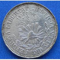 Ojo Moneda $1 Peso Revolucion Taxco Gro Plata Oro O.300