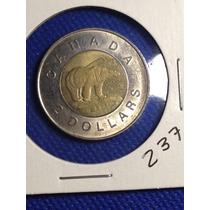 237- Moneda De 2 Dolares De 2002, Canada