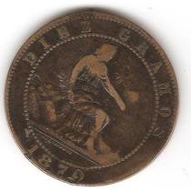 Moneda Antigua Rara De España 1870