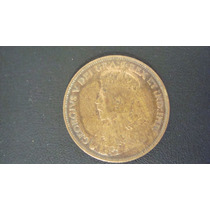 ¡ Wow ! 1 Centavo De Cobre De Canada Año 1917