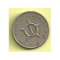 Moneda Cuba 1 Centavo (1915)