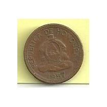 Moneda Honduras 1 Centavo De Lempira (1957)