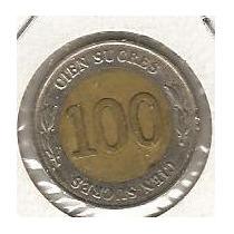 Ecuador 100 Sucres 1997 Bimetalica