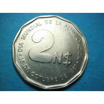 Uruguay 2 Pesos Año 1981