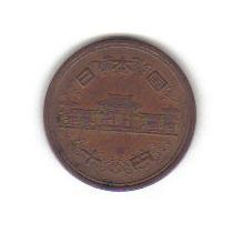 10 Yen 1959 Moneda De Japón Del Emperador Hiroito - Hm4