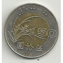 Moneda Bimetalica China 50 Yuan (1997) Hm4