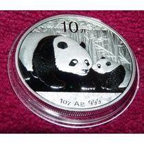 Moneda Plata Panda 2011 !!