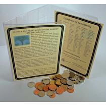 Colección De 40 Monedas Diferentes De Flores Y Plantas.