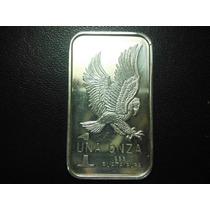 Usa Una Onza De Plata Pura Liberty 5cm