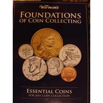 Usa Album Coleccionador Fundamentales Monedas Estados Unidos