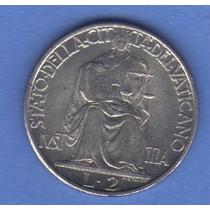 2 Liras 1945 Ciudad Del Vaticano Papa Pio Xll - Hm4