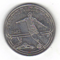 100 Florines 1982 Hungria Copa Mundial Fútbol España 82 Hm4