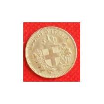 20 Centimos 1919 Italia Moneda Primera Guerra Mundial - Hm4