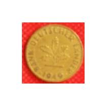 10 Peniques 1949 Alemania Banco Alemán Primera Moneda - Vbf