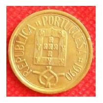 10 Escudos 1990 Portugal Con Escudo - Hm4