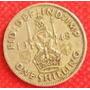 1 Chelín 1948 Gran Bretaña Rey Jorge Vl León Coronado - Hm4