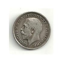 Moneda De Plata Inglaterra 3 Pence (1912) Hm4