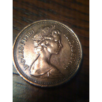 Moneda New Penny 1971 Elizabeth Ii