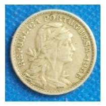 50 Centavos 1956 Portugal Cabeza De La Libertad - Hm4