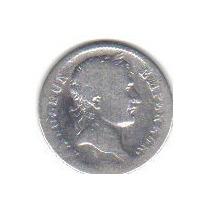 1 Franco 1811 Plata Moneda Francia Napoleón Bonaparte - Vbf