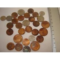 Pre Euro 30 Piezas De Moneda Holanda Desde 1948 Paises Bajos